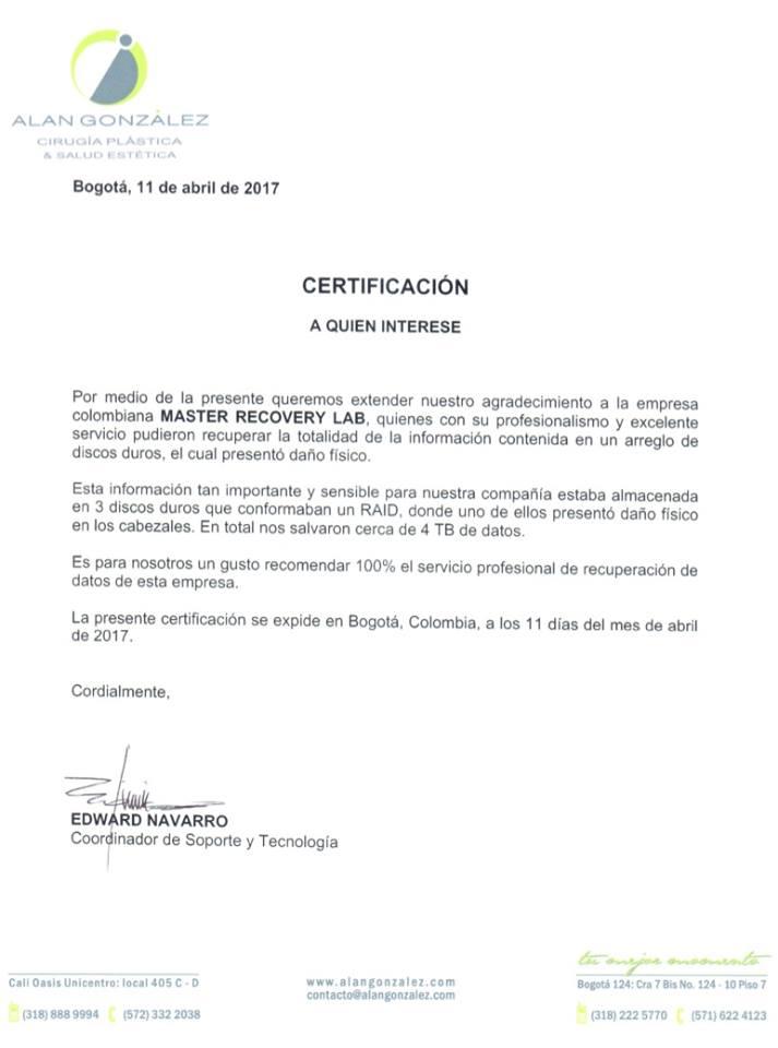 Alan González Cirugía Plástica