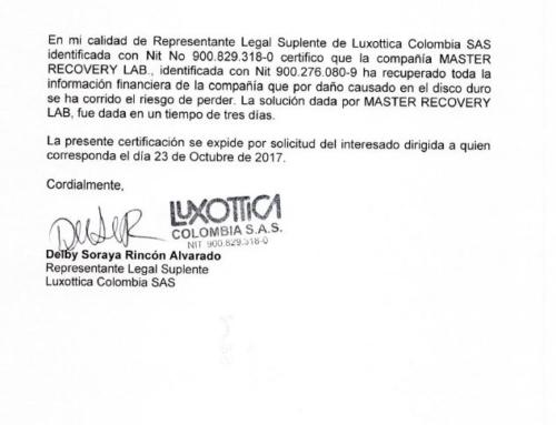 Luxottica Colombia